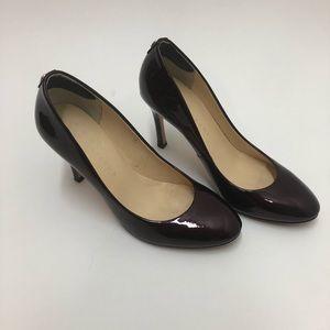 Ivanka Trump Leather Sole Heels Size 8M